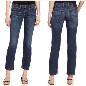 LUCKY BRAND Sienna Tomboy Cropped Blue Jeans